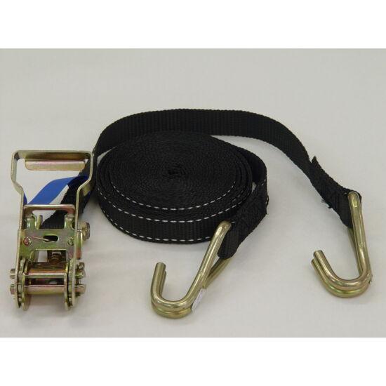 Racsnis rögzítő heveder - 1500kg/25mm/5m